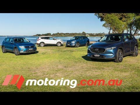 The Verdict: 2017 Medium SUV Comparison | motoring.com.au