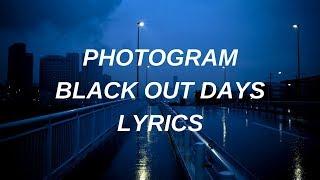 phantogram // black out days  lyrics