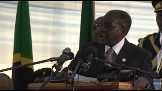 PRESIDENT ROBERT MUGABE PAYS TRIBUTE TO MWL NYERERE