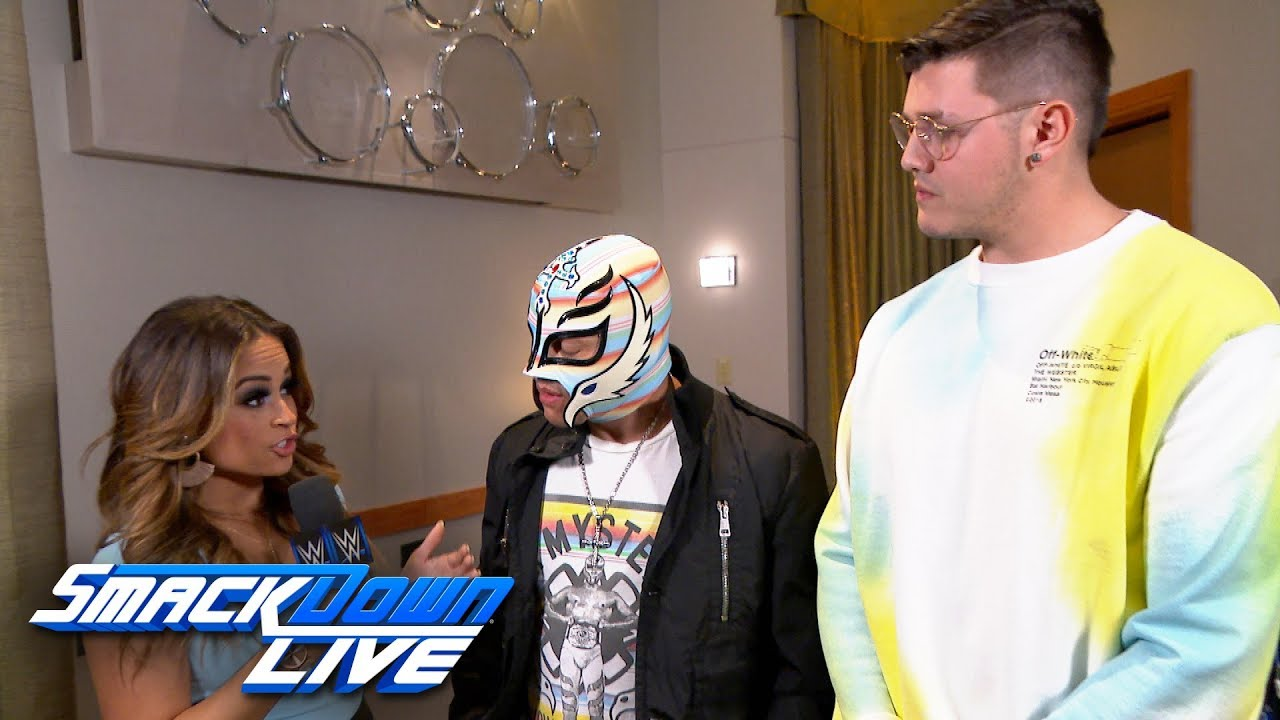 Lucha Libre Youtube Mysterio Promises To Teach Joe A Lesson At Wrestlemania Smackdown Exclusive Mar 26 2019