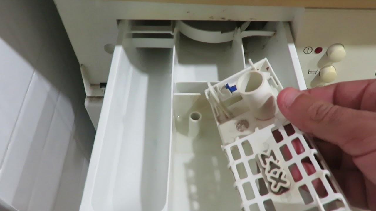 porque lavadora no coge el suavizante youtube