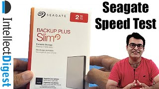 Seagate Backup Plus Slim Newest Model Review With Speed Test