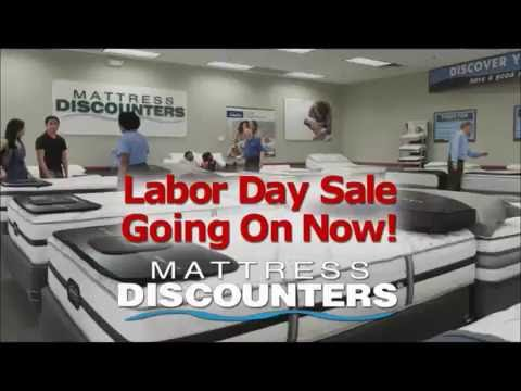 mattress discounters labor day sale going on now
