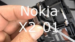 Nokia X2-01 Disassembly & Assembly - Case & Display Replacement