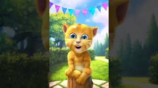talking ginger sing a Garhwali song | teri mukhdi ki aundi yaad |
