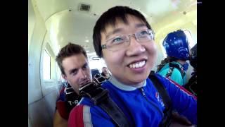 Rui Tian's Tandem skydive!
