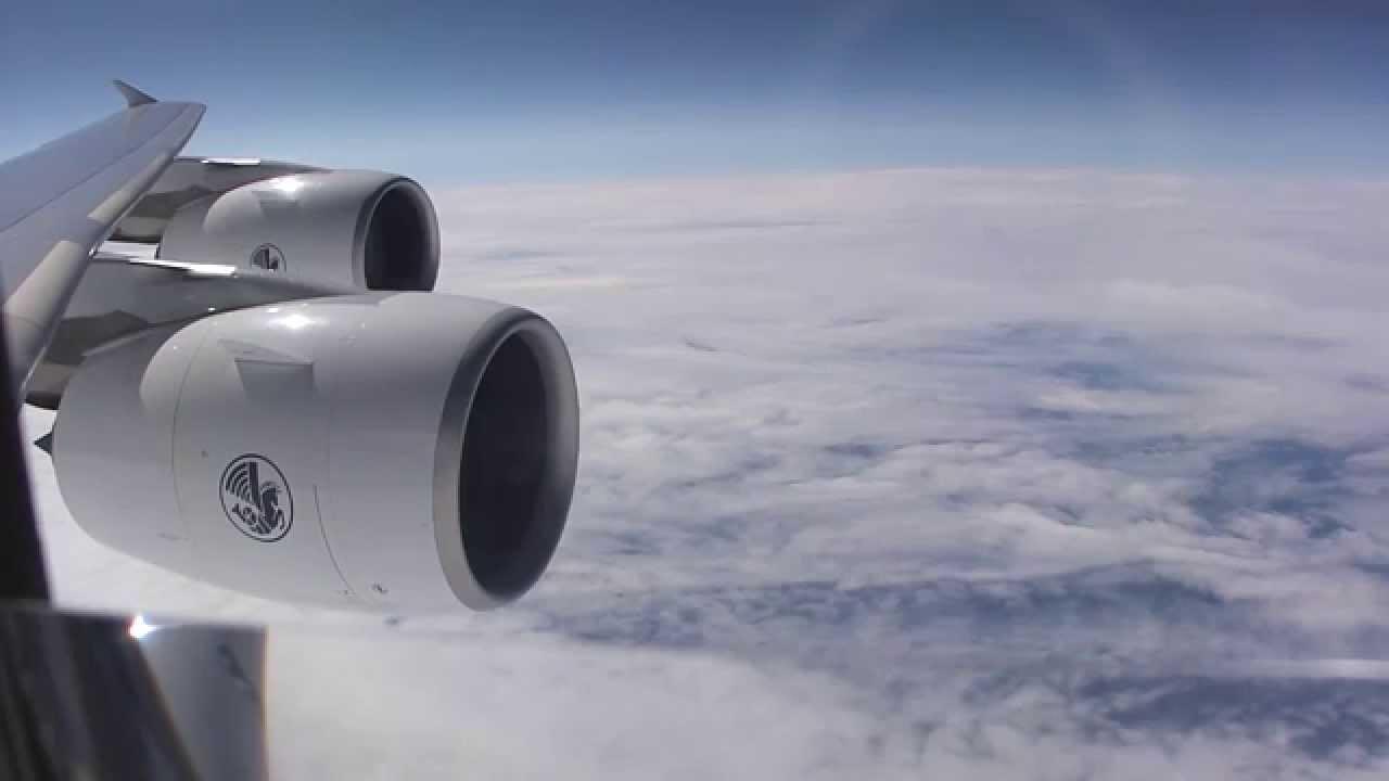 Engine Alliance GP7000 on A380 (Air France Airbus A380-800) - YouTube