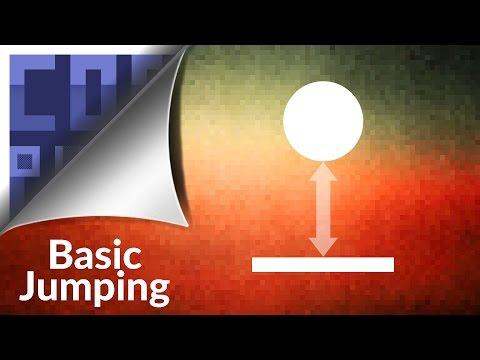 Python Pygame Tutorial - Basic Jumping