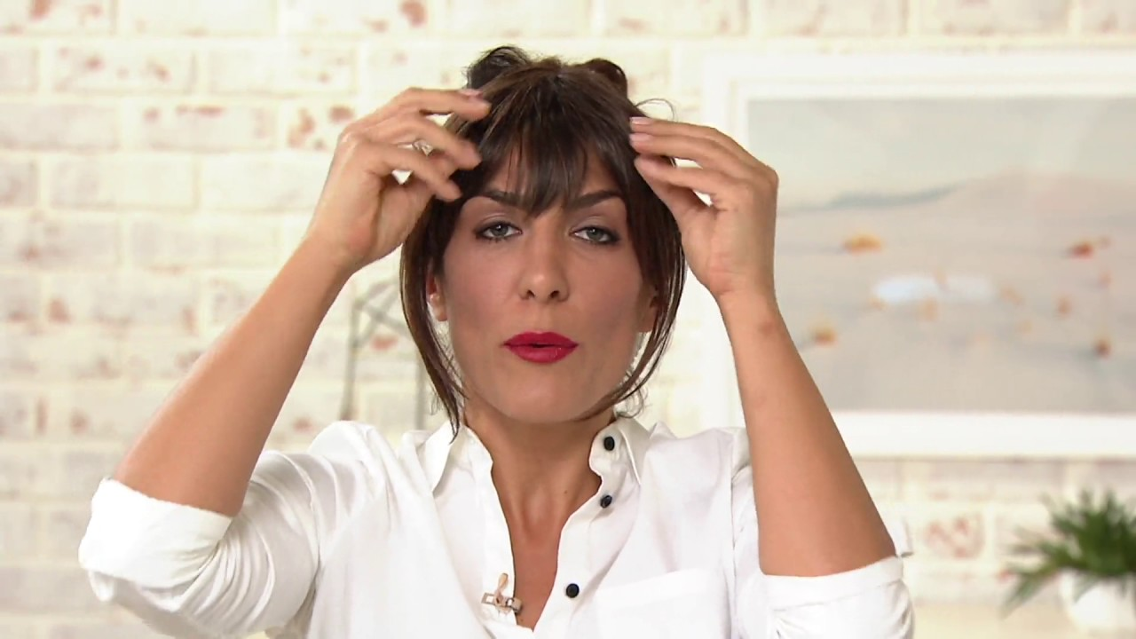 Hairdo effortless clip in bangs on qvc youtube hairdo effortless clip in bangs on qvc pmusecretfo Image collections