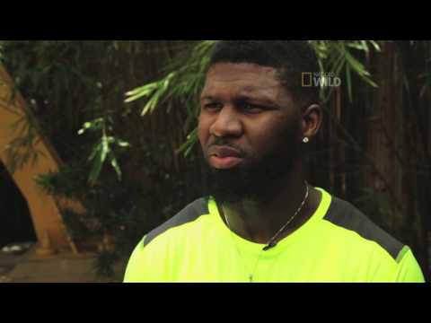 Man v Cheetah Devin Hester interview video