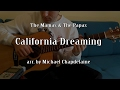 The Mamas & The Papas - California Dreaming (Fingerstyle acoustic guitar cover)