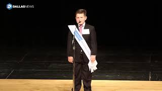 """Wesley Trent Stoker gives his speech on """"What is your dream for today"""