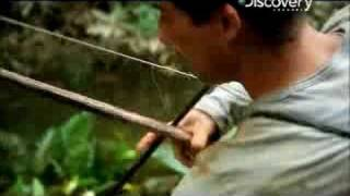 Man vs. Wild - Ecuador Fishing Piranha