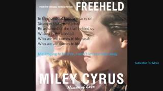 Baixar - Miley Cyrus Hands Of Love Lyrics And Audio New Song Grátis