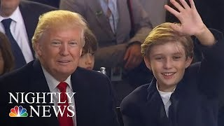 First Lady Melania And Barron Trump Move To The White House | NBC Nightly News