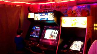 Arcade Game Room Updated