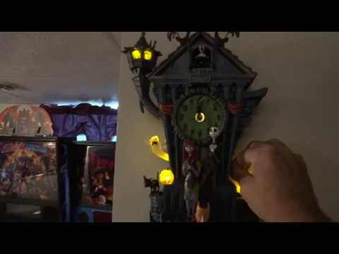 Part 2 Nightmare Before Christmas Cuckoo Clock Sound Modification