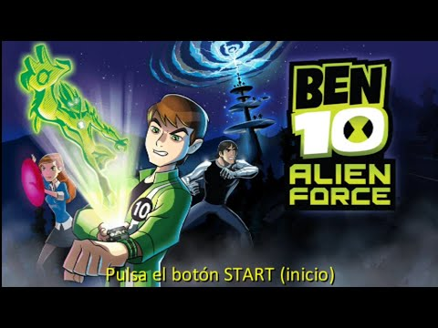 Jugando A Ben 10 Alien Force | Gameplay Nostálgico - Emanuel XD