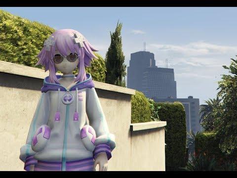 GTA Hyperdimension Neptunia - GTA SA modding,GTA V, GTA IV