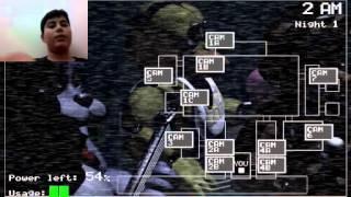 Gambar cover Five Nights At Freddy's Part 1 Hemen Öldüm