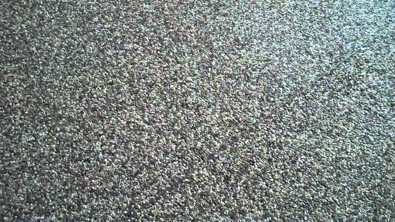 Nature Stone Garage Floor Youtube
