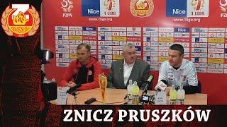 Konferencja po meczu Znicz Pruszków - Wisła Puławy (15.04.2017)