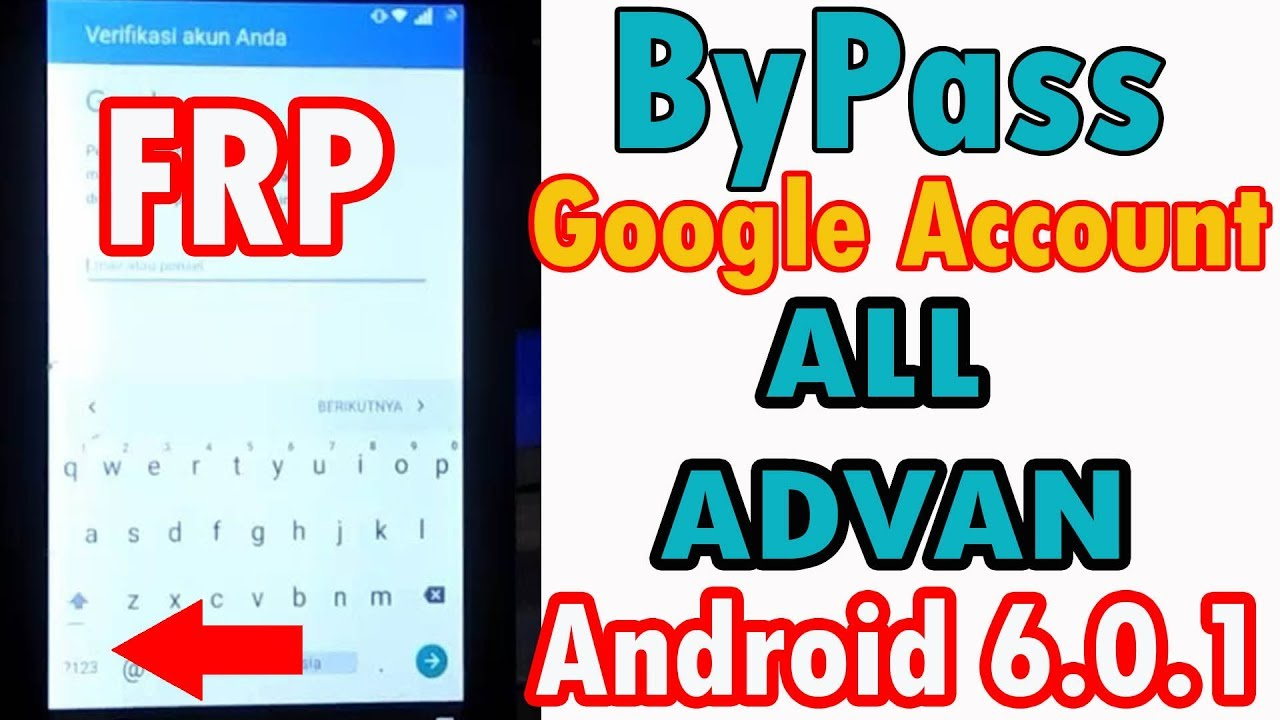 Bypass Google Account Frp Advan S7c Done 100 Youtube