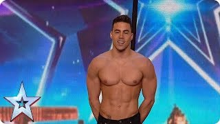 High flying trapezist RISKS HIS LIFE | Britain's Got Talent