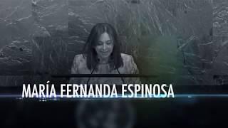 María Fernanda Espinosa: a nova presidente da Assembleia Geral