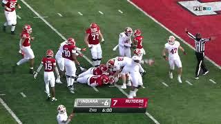 First Half Highlights: Indiana At Rutgers   Big Ten Football