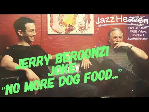 *Jerry Bergonzi* JOKE: No more Dog Food for me after hearing this one... JazzHeaven.com Excerpt