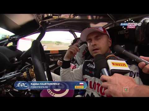 European Rally Championship 2015.Round06 Estonia Day2
