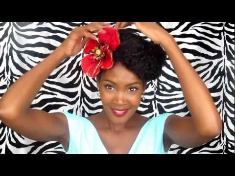 Chilli's Fave Vintage Pinup Hairstyles For Natural Hair Marie