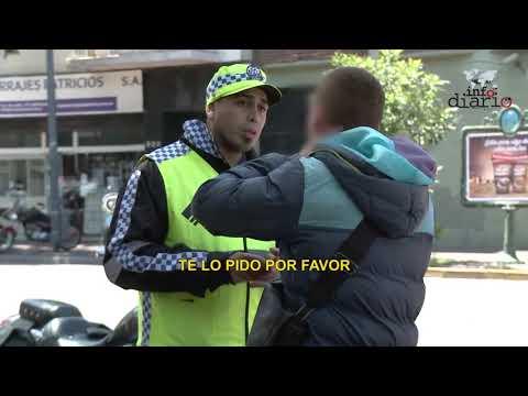 Control Policial a motos, increíbles las excusas de los conductores