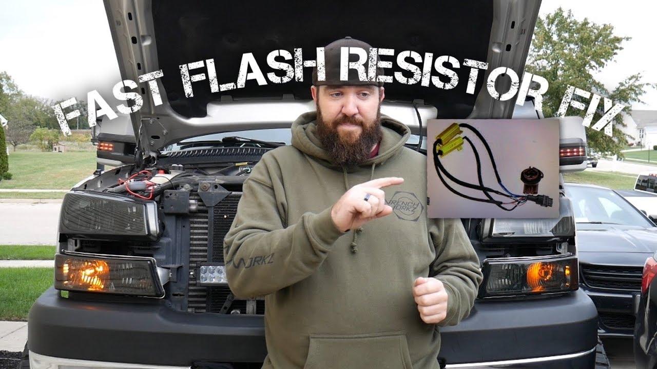FAST FLASH FIX & LED TURN SIGNALS