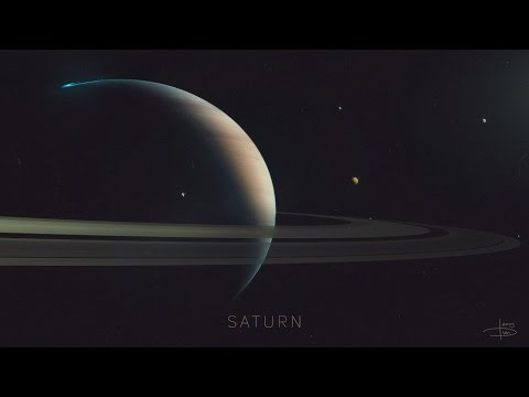 10 фактов о планете Сатурн