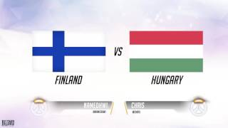 [KR] Overwatch World cup Group Stage EU #1(09.10~09.11)