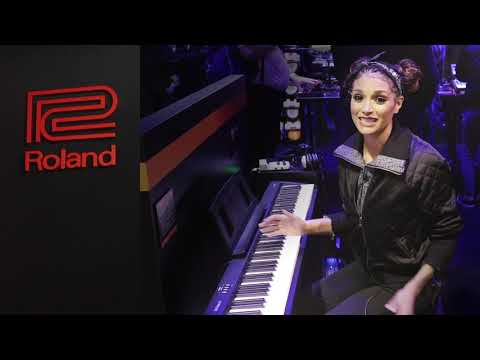 VIDEO - Bonnie McIntosh Plays the Roland FP10 at Winter NAMM 2019