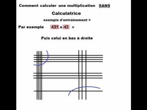 Méthode de calcul sans calculatrice