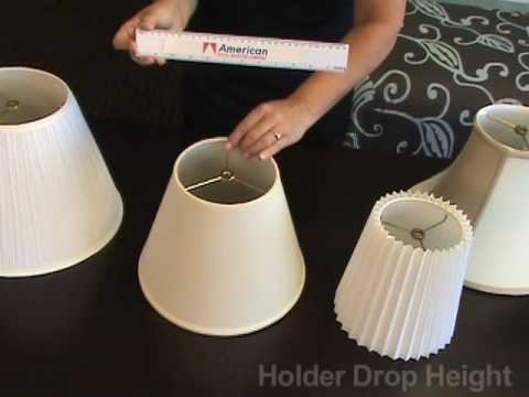 how to measure lamp shades - How To Measure A Lamp Shade