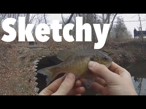 January Thaw| Sketchy Fishing Out Of |The Pipe|