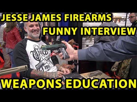 Jessie James Firearms Unlimited , JJFU Funny Interview ! Enjoy:) WeaponsEducation