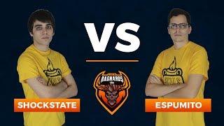 Liga Ragnaros T7 - Shockstate vs Espumito - CUARTOS DE FINAL