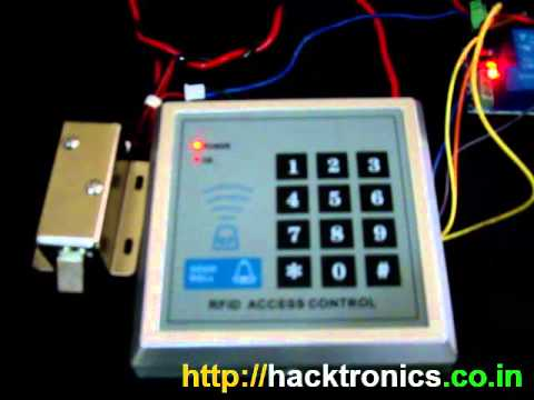 RFID Door Lock Access Control System Demo YouTube