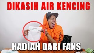 DIKASIH HADIAH AIR KENCING!? YAKKSS Jadi Jelly