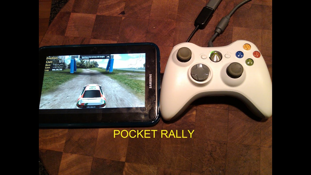 Pocket Rally Played With Xbox 360 Wired Controller On
