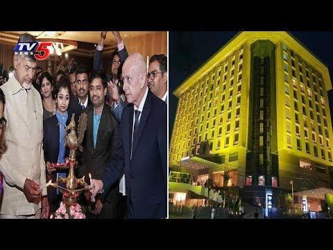 CM Chandrababu Launched 5 Star Novotel Hotel In Vijayawada   TV5 News