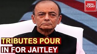 RIP Jaitley : Tributes Pour In For Arun Jaitley, Final Rites To Be Held At 2 pm