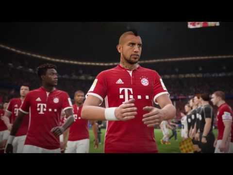 FC Bayern in FIFA 17 ft   Neuer, Lewandowski, Costa, Coman, and Müller
