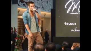 Mark O'dea Singing at Limkokwing's University Graduates Fashion Show 2013